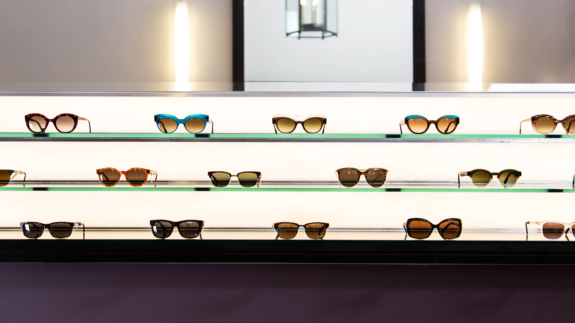 Sunglasses range
