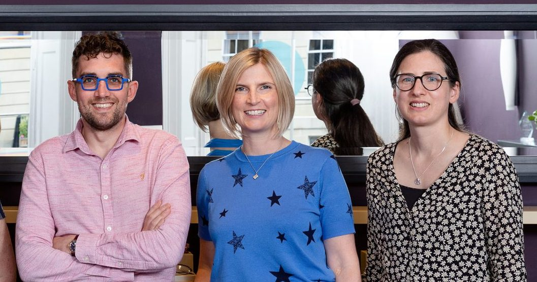 Ian and Rebecca join the new Lothian Emergency Eyecare Treatment Centre